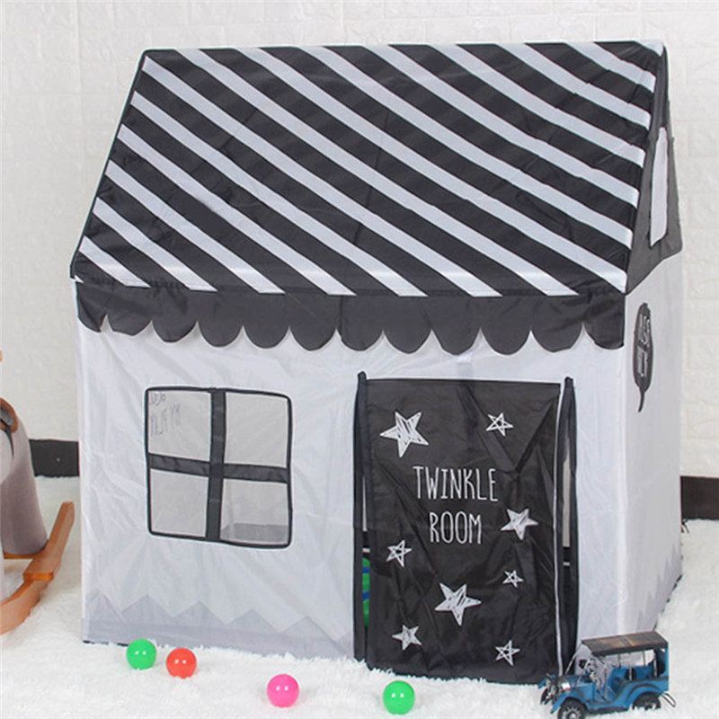 Children's Play House Tent Polyester Indoor Play House Children's Day Toy Gift Detachable Assembly 85*75*75cm Toy Tent For Kids