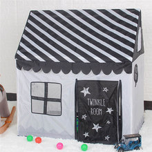 Childrens Play House Tent Polyester Indoor Day Toy Gift Detachable Assembly 85*75*75cm for Kids