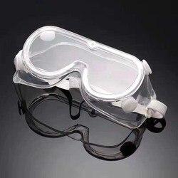 Anti damlacık tıbbi glassesTransparent koruyucu gözlük güvenlik gözlükleri Anti-Splash rüzgar geçirmez iş güvenliği gözlükleri araştırma