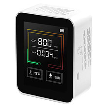 Co2 Detector Air-Analyzer Humidity-Air-Quality for Tvoc Tester-Tool -S Monitor Formaldehyde-Meter