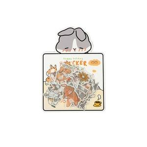 Image 5 - Infeel. me girlhood diário papel adesivo scrapbooking decoração etiqueta 1 lote = 18 pacotes atacado