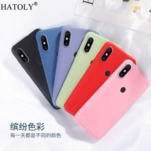 For Xiaomi Mi 9 Lite Case Cover for Phone Soft Shell Protective Liquid Silicone
