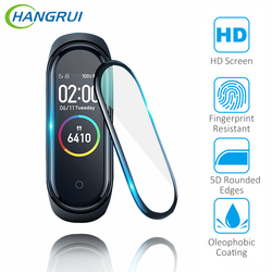 3D Protective Film For XiaoMi Mi Band 4 Soft Glass Film Explosion-Proof Full Screen Protector Mi band 4 Glass Smart Accessories