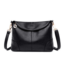 Bag women bag new 2020 spring and summer wild simple casual soft leather shoulder messenger bag fashion middle-aged mother handb new casual fashion loading and unloading handle women leather handbags atmosphere wild shoulder slung middle aged mother bag