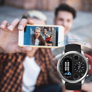 Image 4 - SYSOTORYU T3pro montre intelligente double fuseau horaire Sport hommes étanche Smartwatch fréquence cardiaque Bluetooth traqueur dactivité pour IOS Android