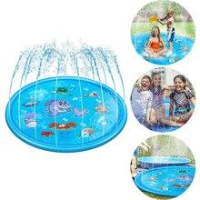 Sprinkler-Mat Pool-Toy Swiming Round Outdoor Water Spray Game-Pad Splash Kids Inflatable