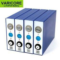 4 قطعة VariCore 3.2 فولت 90Ah LiFePO4 بطارية يمكن ل 12 فولت بطاريات ليثيوم الحديد فوسفا 90000 مللي أمبير يمكن جعل بطاريات القوارب ، بطارية السيارة