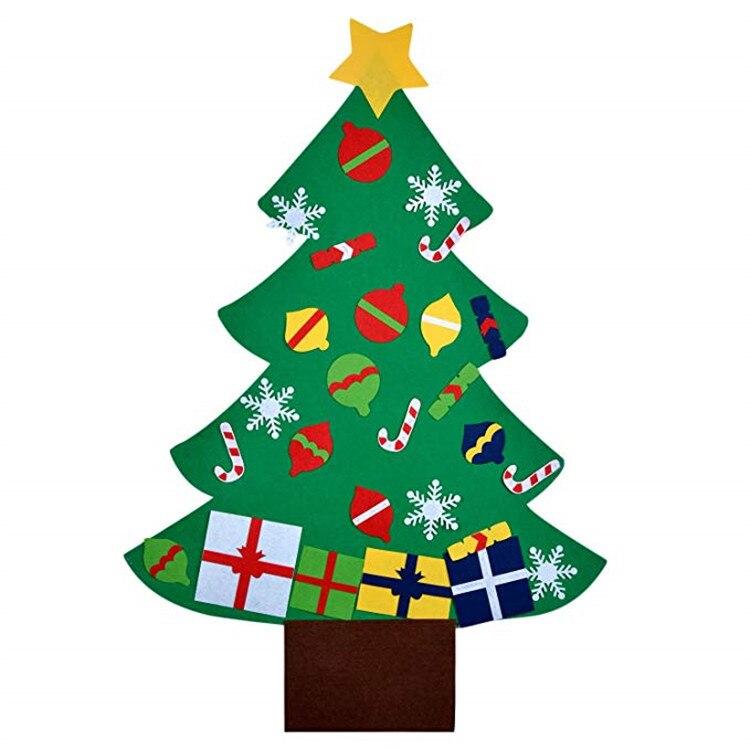 Nonwoven Fabric Christmas Decorative Pendant DIY CHILDREN'S Toy Handmade Christmas Tree Felt Christmas Tree