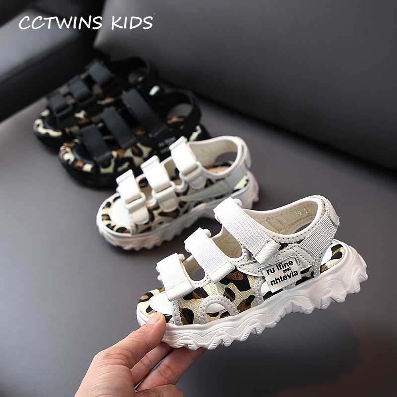CCTWINS Kids Shoes 2020 Summer Children Black Casual Shoes Baby Girls Fashion Beach Sandals Boys Brand Soft Flat Toddlers BS450