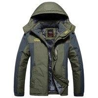 Winter Military Jackets Men Fleece Coats Windproof Waterproof Windbreaker Outwear Down Parka Army Raincoat Plus Size 7XL 8XL 9XL