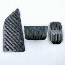Aluminum Rubber Car Accelerator Footrest Pedal Plate Clutch Brake Pedal Cover For Toyota Corolla E210 12th 2019 2020 Accessories