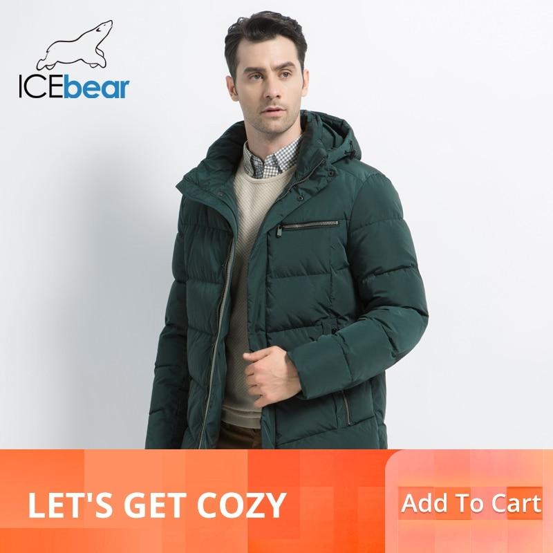 Erkek Kıyafeti'ten Parkalar'de 2019 yeni erkek kış ceket yüksek kaliteli erkek ceket moda erkek giyim sıcak erkek Parka MWD19835D'da  Grup 1