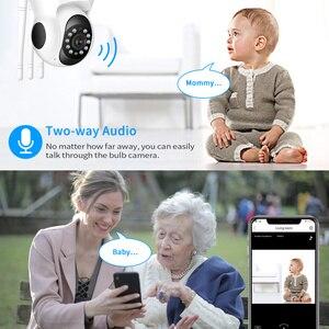 Image 2 - Hiseeu Ultra HD 3MP 1080P kablosuz IP Kamera WiFi 1536P ev güvenlik gözetim Kamera CCTV bebek Kamera akıllı otomatik izleme