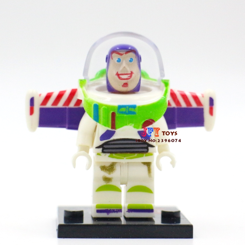 Single Super Heroes Building Blocks Toy Story Buzz Lightyear Model Bricks Toys For Children Action Figures