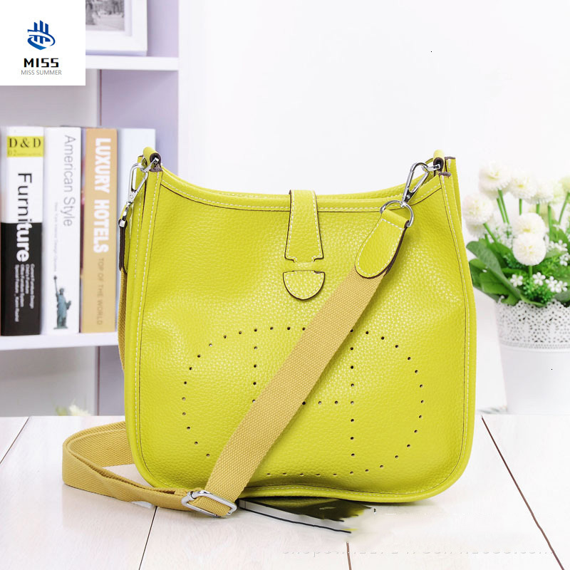 2019 New Women's Bag Luxury Design Handbags  Original Lychee Pattern Shoulder Messenger Bag  Leather Handbag