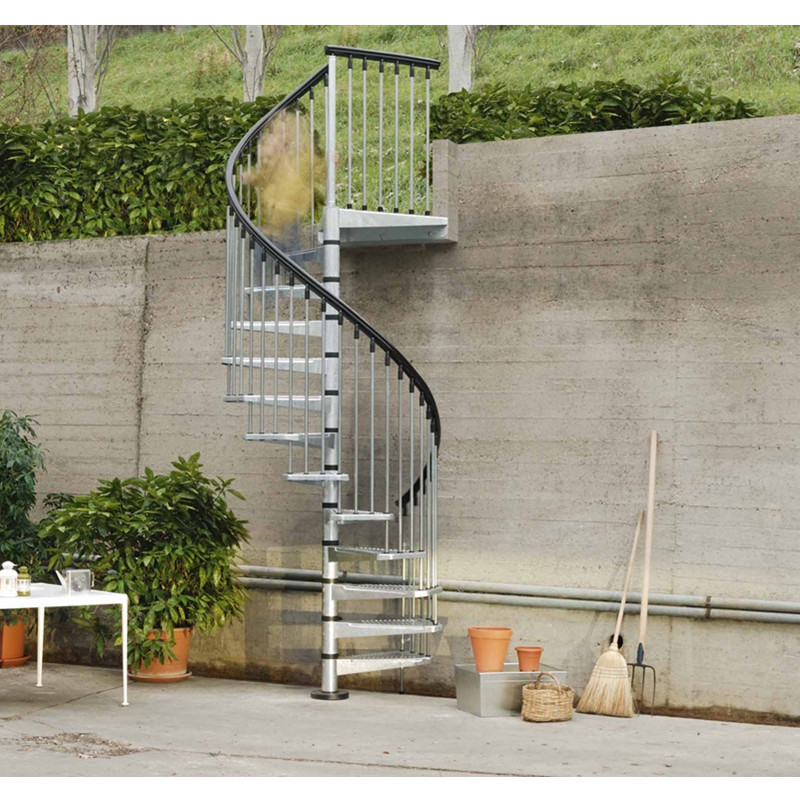 Custom Design Metal Stair Stainless Steel Spiral Staircase For | Diy Outdoor Spiral Staircase | Small Space | Before And After | Backyard | Half Circle | Metal