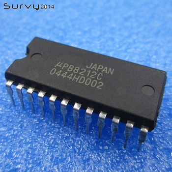 цена на 1 pc / 5 pcs UPB8212C UPB8212 DIP-24 IC new electronics accessories compatible board