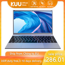 Laptop KUU XBook, 14.1″ FHD (1.920×1.080) IPS, Intel Celeron J4005, 8GB RAM, 256GB/512GB SSD, Ultra HD Graphics 600, Windows 10