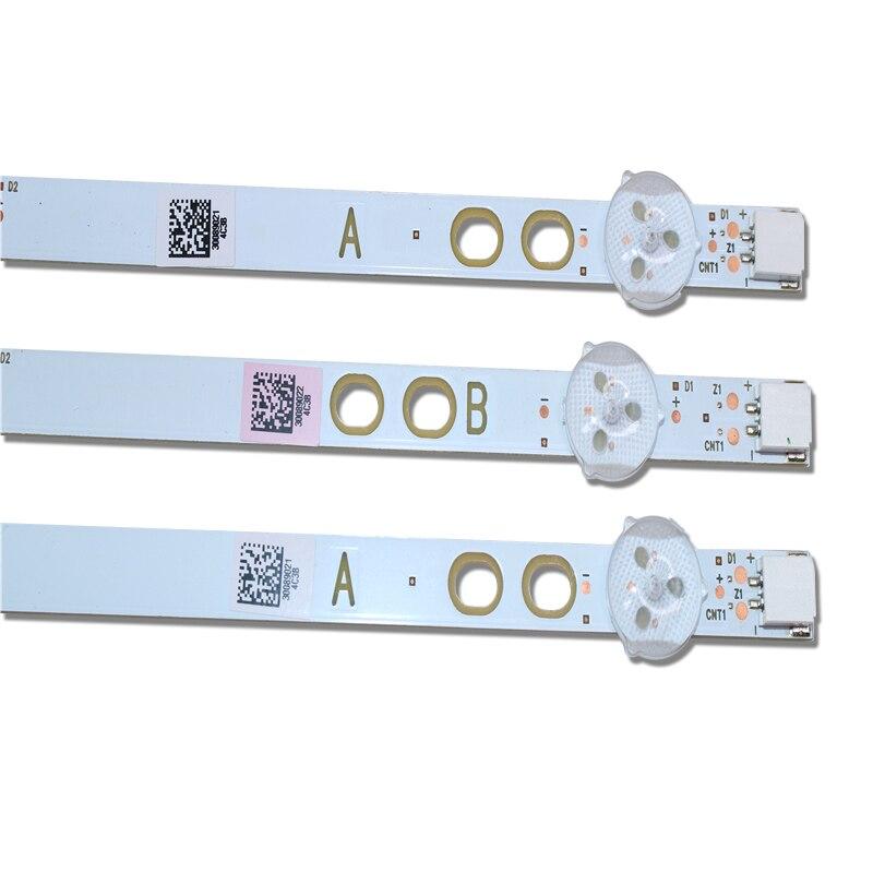 2set= 6 PCS 745mm LED Backlight Strip For LG Bush Vestel 40 Inch LB40017 17DLB40VXR1 VES400UNDS-2D-N11 VES400UNDS-2D-N12