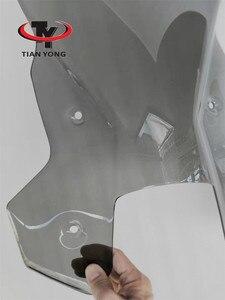 Image 4 - Smoke Black Motorcycle Accessories For KTM 1190 1090 ADVENTUER Windshield Heightening Wind Deflectore raise Windscreen Spoiler