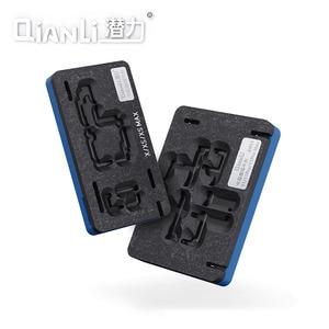 Image 4 - Qianli plateforme de pochoir de rebond BGA 3D, pour iPhone X, XS, 11 Pro MAX, carte mère, couche intermédiaire, plantation de modèles en étain, filet