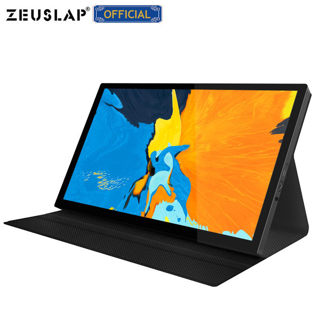 """8.9"""" Touch Screen Portable Monitor ultra slim IPS display HDMI-Compatible Type C for Laptop PS4 Switch XBOX Samsung Note 10 2"""