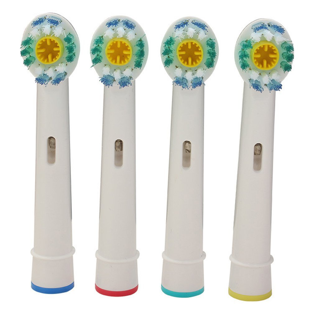 4PCS Pro-Health Precision Clean Electric Tooth brush Heads Replacement for Braun Oral B FLOSS ACTION Clean Teeth image