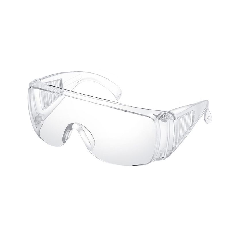 Safety Glasses Personal Protective Equipment, PPE, Eyewear Protection, Clear High Impact, Vented Sides, For Construction, Labora