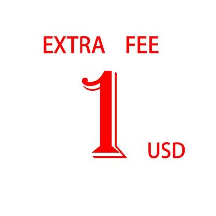 1 미국 달러 선적화물/추가 요금 여기를 지불하십시오