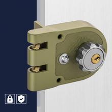 Zinc Alloy Durable Mechanical Door Lock Anti-theft for Home Security