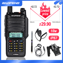 10W Waterproof Baofeng UV-9R Plus Walkie Talkie 9rhp Powerful Portable