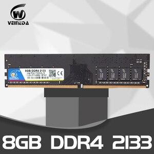 Оперативная память VEINEDA для ПК, ddr4, 4 ГБ, 8 ГБ, 2133, 2400, 2666 МГц, 1,2 В, 288pin, двухканальная материнская плата ddr, 4 dimm, Память ram, ddr4