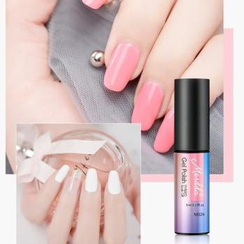 MORDDA 5 ML Nail Gel Polish For Manicure UV LED 60 Colors Nail Varnish Hybrid Semi Permanent Gel Lacquer Nail Art Design Tools 3