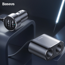 Baseus Dual USB Car Charger For For iPhone Samsung Xiaomi 3.