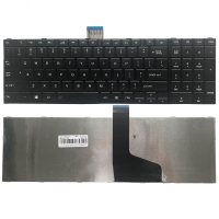 NEW US keyboard for TOSHIBA SATELLITE C850 C850D C855 C855D L850 L850D L855 L855D L870 L870D US Black laptop keyboard