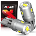 KXJX T10 LED Bulbs Canbus 6000K For Car Parking Position Lights Car Interior Map Dome Lights White Auto Lamp for honda,pack of 2
