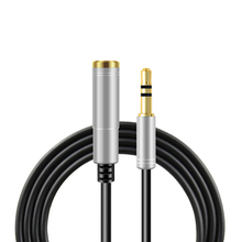 3.5mm AUX AudioExtension Cable Headphone Audio Extension Cable Male to Femal Cable 1/1.5/2/3m Metal Jack for TV Computer MP3 цена и фото