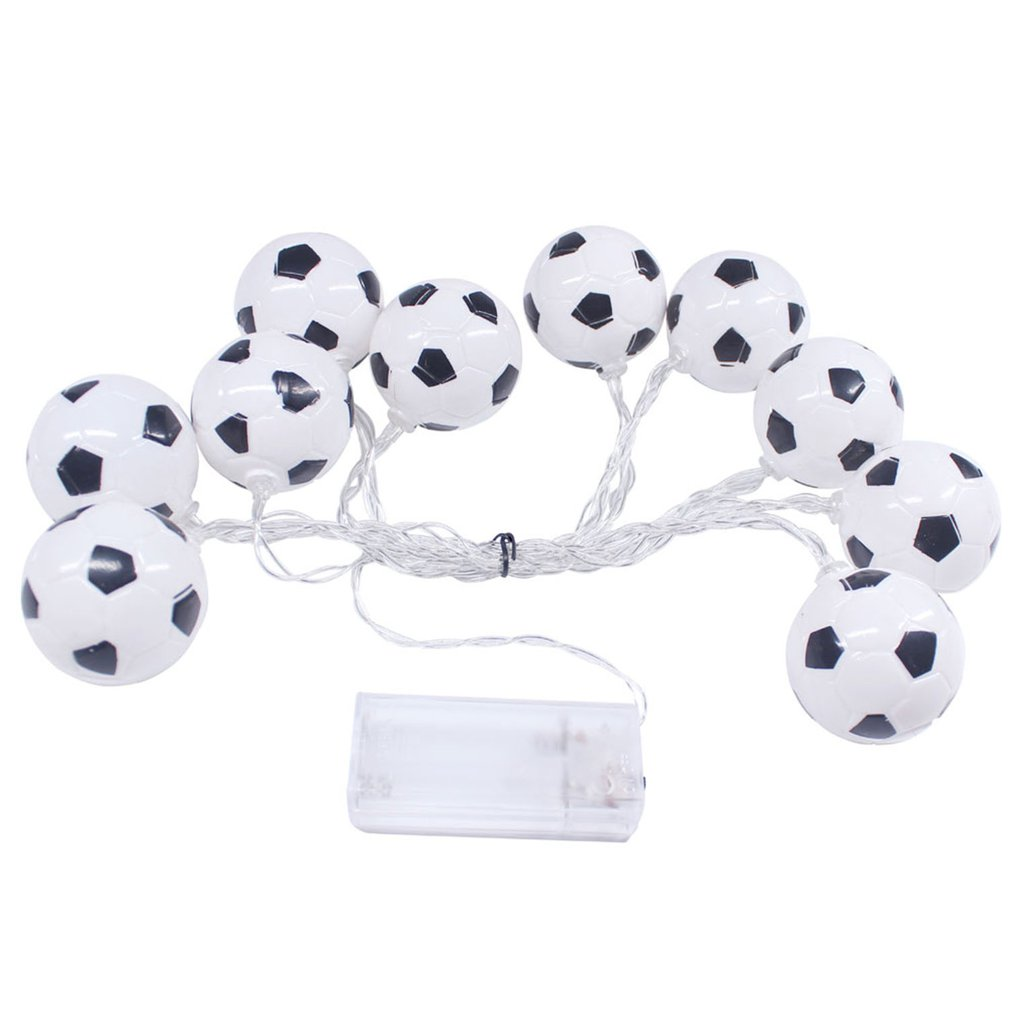 Football Fairy Light Christmas Lights Outdoor Led Decoracion Copper Wire String Light For Wedding Garland Party