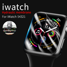 Clear Hydrogel Film for Apple Watch Series 5 44mm 40mm Screen Protector Transparent Protective Film for iWatch 4 3 2 1 38mm 42mm cheap MSSM CN(Origin) Easy to Install for apple watch 5 4 3 2 1 for apple watch screen protector for apple watch 5 44mm for apple watch 38mm