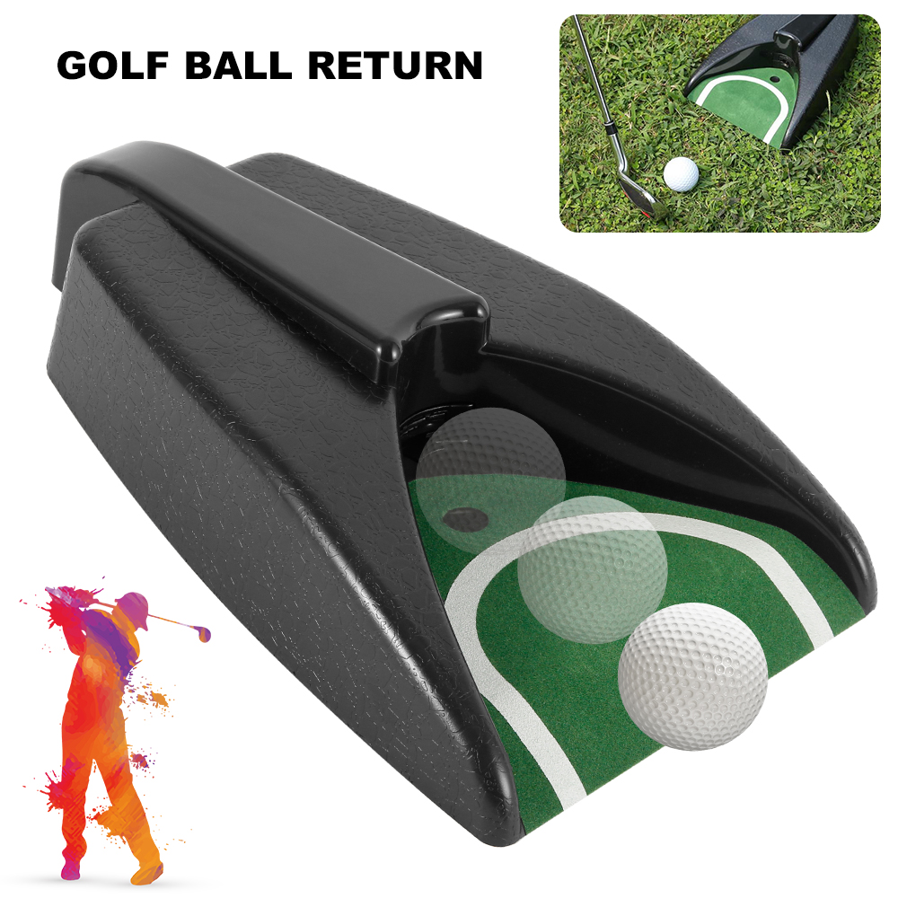 Automatic Golf Ball Training Return Device Indoor Golf Ball Kick Back Automatic Return Putting Cup Device Practice Training Aids