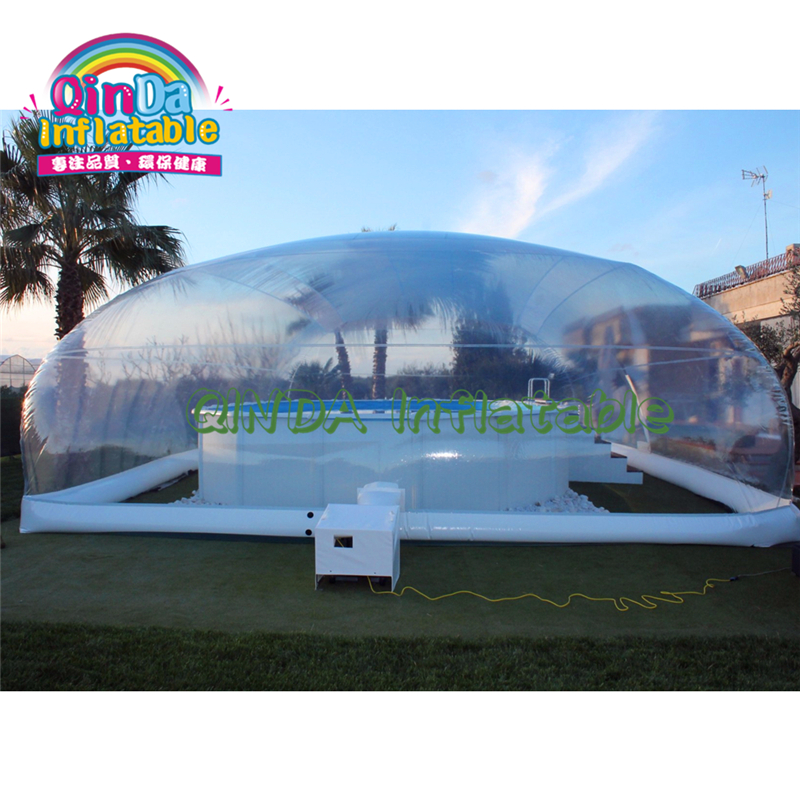 Cheap Inflatable Pool Cover Tent,giant Inflatable Pool Dome Roof Tent,small Inflatable Pool Shelter Tent