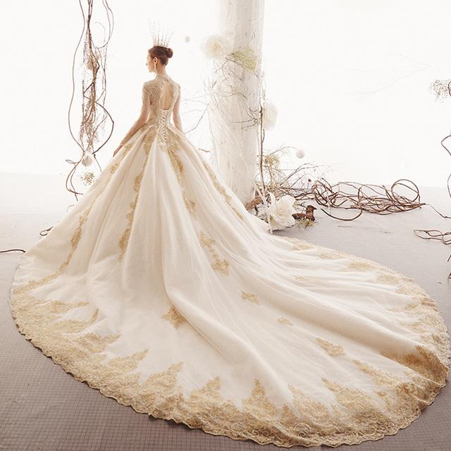 2020 Custom Made Princess Wedding Dresses