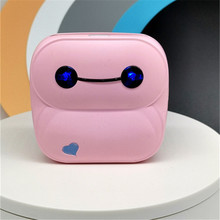 Label Printer Termico Bluetooth Portable Pocket Impresoras Baypage New Pink GOOJPRT Wireless