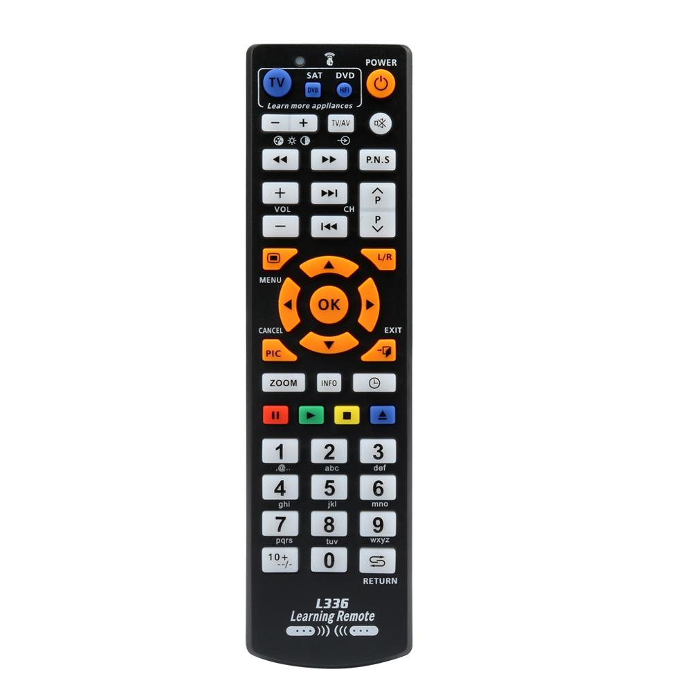 Nouvelle télécommande intelligente L336 avec fonction d'apprentissage pour l'apprentissage de la télévision CBL DVD SAT
