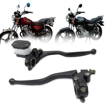 CVO GN125 Motorcycle Universal Black Clutch Lever Brake Master Cylinder Motorcycle Hydraulic Brake Master Cylinder Handle Access