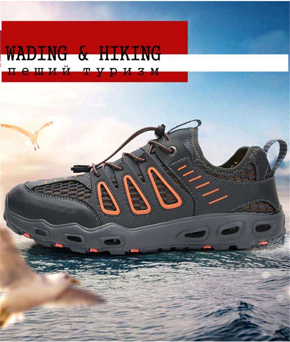 livre secagem rápida tamanho grande unisex tênis sandálias