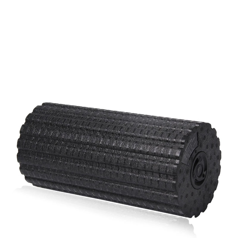 Electric Vibration Massage Foam Roller Yoga Column Rechargeable Backrest Leg Adjustment Massager Gym Workout Electric Yoga