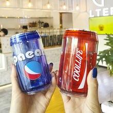 280 мл креативный Кокс консервированный пластиковый стаканчик