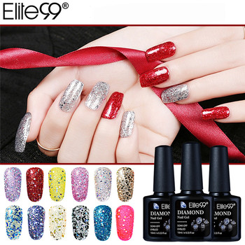Elite99 Nail art Design 30 Farbe 10Ml Tränken Weg Von Emaille Gel Polish UV Gel Nagellack Lack Diamant Keine wischen Top Farbe Gel Polnisch