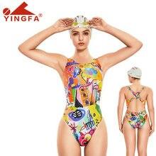 Yingfa roupa de banho 2020 nova mulher maiô de uma peça meninas banho terno de natação para mulher bodysuit